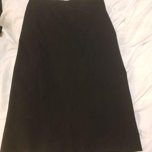 Jil Sander Women's Dark Navy Skirt Size 36/S